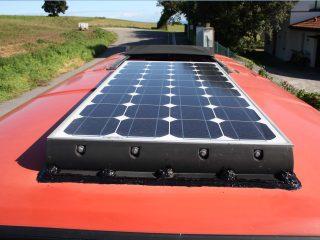 Langer Tupp VW-T3 Solarpanele