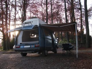 Hanggtime Schlumpf VW-T3 Markise