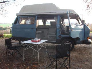 Hanggtime Schlumpf VW-T3 Natur Vanlife