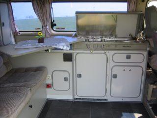 Schneeflocke VW-T3 Hanggtime Innenraum