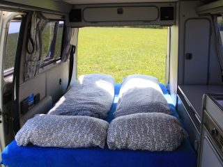 Hanggtime Schneewitchen VW-T3 Bett