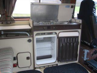 Hanggtime Speedy VW-T3 Küche