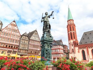 Bulli Reise Frankfurt Deutschland Hanggtime