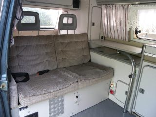 Hanggtime Cala VW-T3 Innenraum