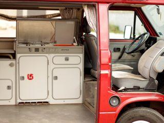 Hanggtime Cali VW-T3 Innenraum