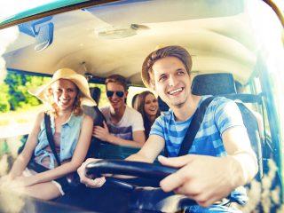 Busurlaub mit Freunden