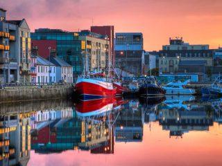 Hanggtime Irland Galway Fischerboot