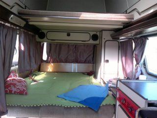 Hanggtime Loli VW-T3 unteres Bett