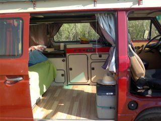 Hanggtime Loli VW-T3 Küche