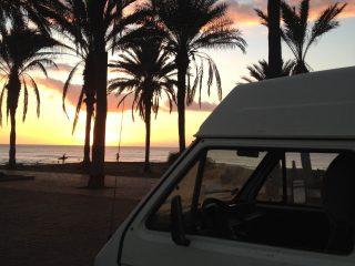 Hanggtime Nanunana VW-T3 Sonnenuntergang