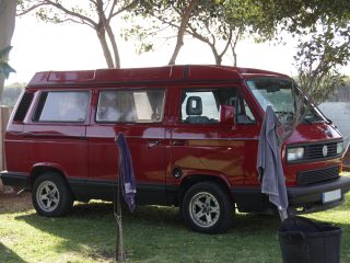 Hanggtime roter Baron VW T3