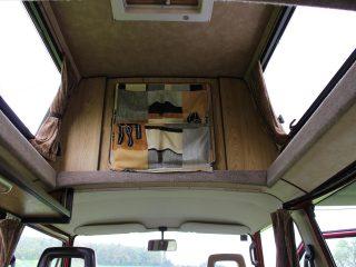Hanggtime roter Cathago VW T3 Dachausbau