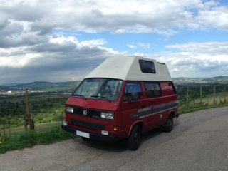 Hanggtime Roter VW T3