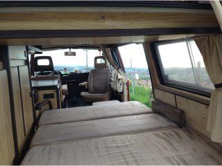 Hanggtime Roter VW T3 unteres Bett