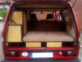 Hanggtime VW Carthago Innenraum