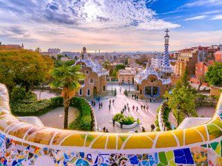 Hanggtime Barcelona Park Gaudi