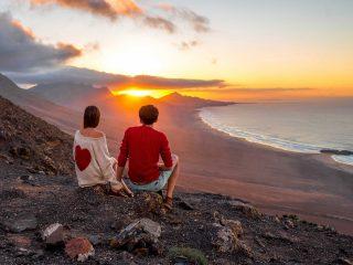 Hanggtime Fuerteventura Sonnenuntergang