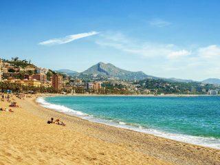 Hanggtime Spanien Malaga Strand
