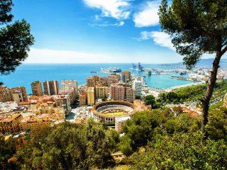 Hanggtime Spanien Malaga Meerblick