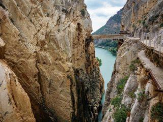Hanggtime Spanien Malaga Königsbrücke