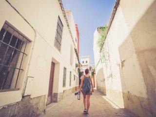 Sevilla Spanien Stadtbummel