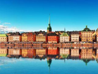Hanggtime Stockholm Schweden Uferpromenade