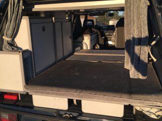 Hanggtime Teddy VW-T3 Innenraum