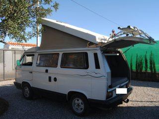 Hanggtime white Atlantic VW-T3 Klappdach